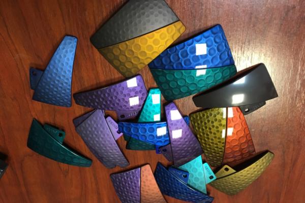 La peinture 3d holographique permet de créer divers effets de texture