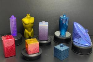 Peintures lasérisables sur verre: une multitude de couleurs