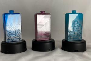 Peinture lasérisables sur verre: une multitude de textures